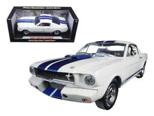 1/18 Shelby Collectibles 1965 Shelby Mustang GT350R Diecast Model White 168 WH