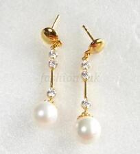 Orecchini di bigiotteria farfallina di perla (imitazione)