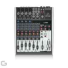 Behringer 1204USB 8 Channel Pro DJ Club Live Band Studio Mixer W/ USB Soundcard