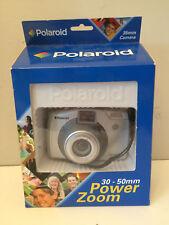 Polaroid PZ1400 Power Zoom 35-50mm film camera with case                      K4