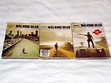 The Walking Dead Seasons 1-3,1 2 3,One Two Three,Dvd,AMC,New&Sealed w/Slipcovers