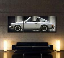 PORSCHE 911 TARGA G-MODELL Leinwand Bild Kunstdruck Sportwagen Classic Wandbild