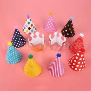Fashion Kids Celebration Hats Birthday Festive Carnival Party Decor Favors Props