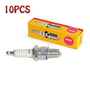 For YAMAHA BANSHEE NGK Spark PLUGS Plug B8ES #2411 BOX OF (10) PLUGS
