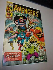 The Avengers #88 (1971) 1st Appearance of Psyklop Marvel Comics Hulk Thor