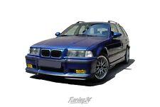 Nebelscheinwerfer Gelb Klarglas BMW 3er E36 Touring Set Gelbe Nebler auch M3