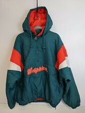 Vintage Miami Dolphins  Starter Jacket Size XL NFL Football big Logo