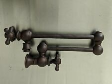 Whitehaus Wall Mounted Pot Filler WHKPFCR3-9550 (Mahogany Bronze)