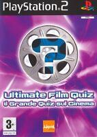 Ultimate Film Quiz - Spiel Original PLAYSTATION 2 PS2 Neu Nicht Versiegelt