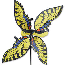 "Flying 28"" Swallowtail Butterfly Staked Wind Spinner Pole & Mount.24. Pr 24002"