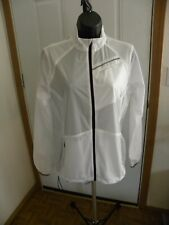 NEW AETHER WOMEN'S RAIN JACKET WHITE SIZE 2 SMALL