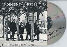 INDECENT OBSESSION - Fixing a broken heart CD SINGLE 2TR CARDSLEEVE 1993