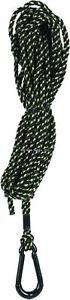 Allen Lightweight Treestand Bow/Gun Braided Rope w/Carabiner Clip 30 ft Camo 53