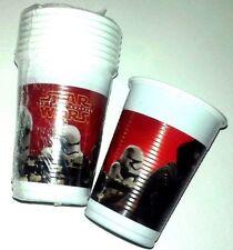 8 Gobelets en Plastique Star Wars VII Cod.82883