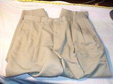 slates basics 36 x 24  pleated no cuffs  100% dacron polyester #199
