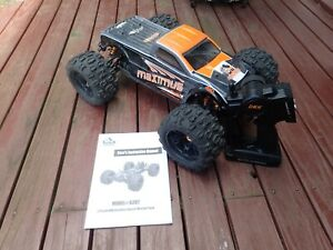 DHK Hobby Maximus 1/8 4WD 4x4 Brushless R/C Monster Truck RTR 50+ MPH 8382