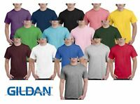 Gildan Mens Hammer Plain Crew Neck T-Shirts 100% Cotton