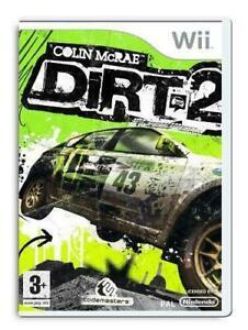 Colin McRae Dirt 2 Nintendo Wii Game