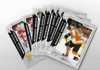 2018-19 O-Pee-Chee Hockey OPC SP #501-600 Rookies Checklists league leaders