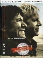 Baglioni Morandi - Capitani coraggiosi Il Live CD Deluxe (new album/sealed)