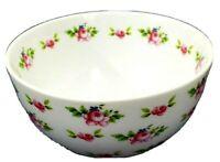 """Katie Alice Floral Soup / Salad Bowl 6"""" Wide x 3"""" Deep"""