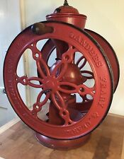 "Landers Frary & Clark #55 Antique Coffee Grinder Mill / 22.5 ""H Pat.Oct.1.1901"
