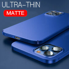 For iPhone 12 Pro Max 11 Pro 12 Mini XS XR 8 7 Matte Hard Ultra-thin Case Cover
