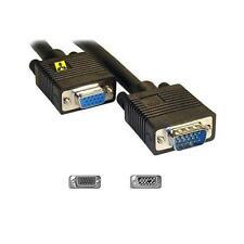 GP1906 VGA Monitor Extension SVGA M-F 15 pin Cable Black 20 m