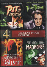 Pit and the Pendulum / Tales of Terror / Masque of the Red Death / Madhouse NEW