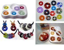 SIMPLE ROUND BEADS Colour De Verra Glass Frit  Casting Mold Fusing Supplies