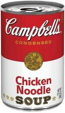10 CANS OF CAMPBELL'S CHICKEN NOODLE SOUP CAMPBELLS CONDENSED SOUP