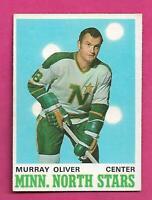 1970-71 OPC # 167 NORTH STARS MURRAY OLIVER EX-MT CARD (INV# C7688)