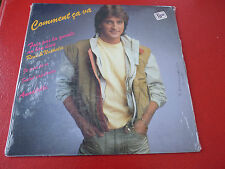 LP vinyl Album René Simard Comment Ça Va ! Disques No.1 Records