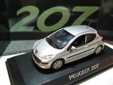 1/43 Norev Peugeot 207 silver diecast