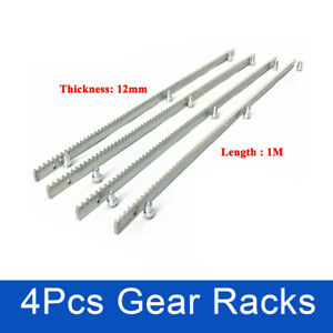 Metal Gear Rack for Automatic Track Sliding Gate Opener 12MM Tickness 4Pcs