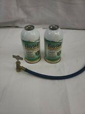 A/C EasySeal Refrigerant Leak Sealant Can 2.5 Oz-Pack of 2-w hose tool-4050-06