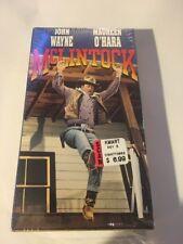 McLintock! (VHS 1963/ 1993) John Wayne -- New Sealed -- Maureen O'Hara VHS