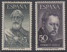SERIE LEGAZPI Y SOROLLA ** 1124/1125 - AÑO 1953 - SIN FIJASELLOS BIEN CENTRADOS