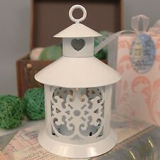 11 LED by the Heart White Lantern Wedding Favor Bridal Shower Favors Table Decor