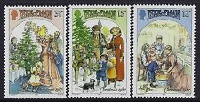 1987 ISLE OF MAN CHRISTMAS SET OF 3 FINE MINT MNH/MUH