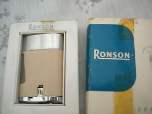 Ronson Comet lighter in box