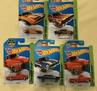 Lot of 5-2013 Hot Wheels HW Workshop - Nos. 206, 228, 241,& 2 of 244s out of 250