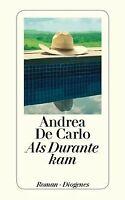 Als Durante kam von DeCarlo, Andrea | Buch | Zustand gut