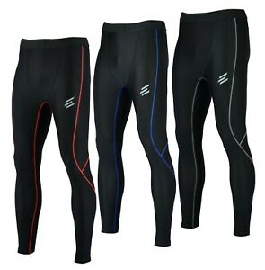 Men compression under armour leggings Gym Running Cycling Sports Football