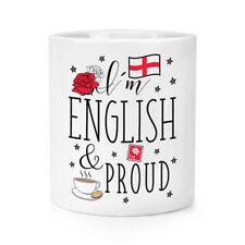 I'm Englisch und Stolz Make-up Pinsel Bleistift Kanne - England Rugby Flagge