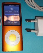 Ipod 8GB Nano 4. generation Orange Mp3 Player Apple
