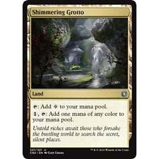 MTG Shimmering Grotto NM - Conspiracy: Take the Crown