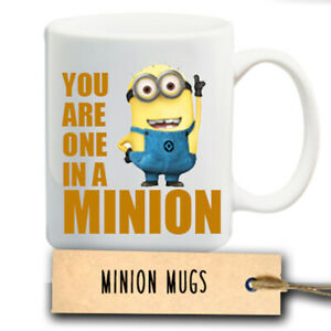 Despicable Me You Are One In A Minion Mug Novelty Gift
