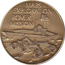 "NASA THE MARS EXPLORATION ROVERS OPPORTUNITY & SPIRIT 1.5"" BRONZE COMMEMORATIVE"