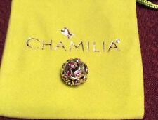 Brand new Chamilia CABARET COLLECTION FUSHIA LEAVES & VINE charm 2025-0787